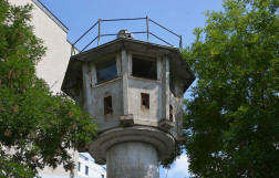 DDR Watch Tower in Berlin