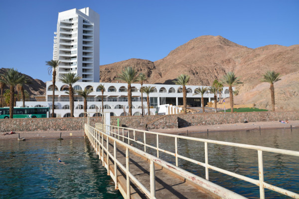Princess Hotel Beach in Eilat